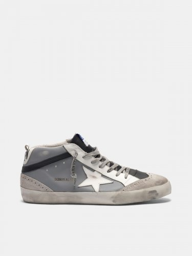 Mid Star sneakers in leather with suede toecap