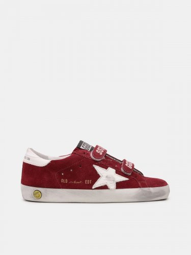 Old School sneakers in suede with white star