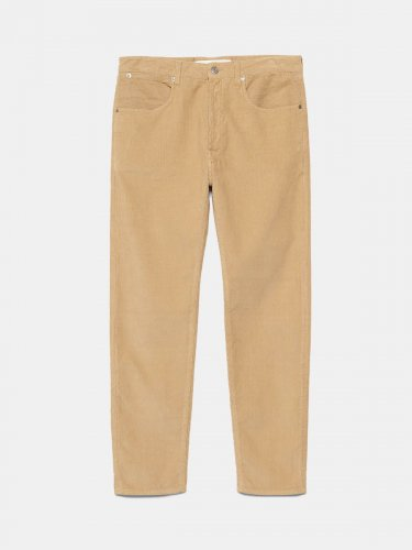 Up five pocket trousers in corduroy velvet with a relaxed fit