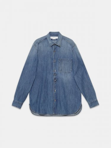Kei shirt in cotton denim