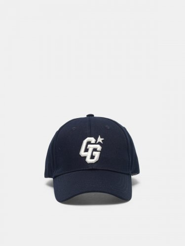 Aki baseball cap with GG embroidery