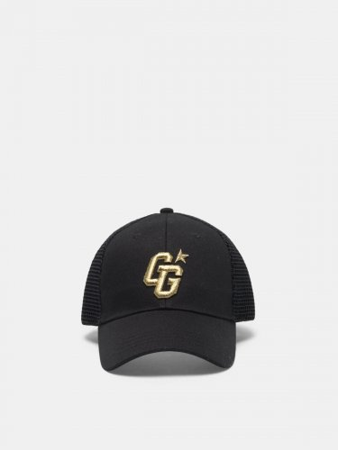 Aki baseball cap with GG embroidery and mesh back
