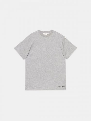 Grey Golden T-shirt with star on the back