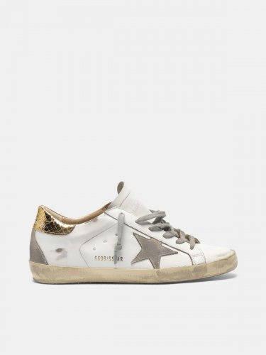 Super-Star sneakers with gold-coloured heel tab