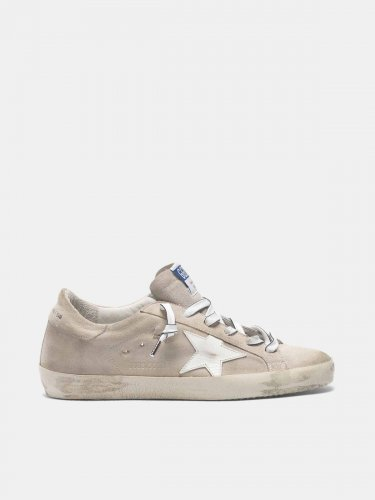 Super-Star sneakers in suede leather