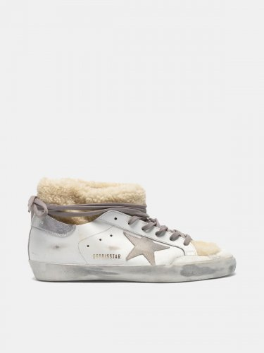 Super-Star sneaker-boots with shearling sock