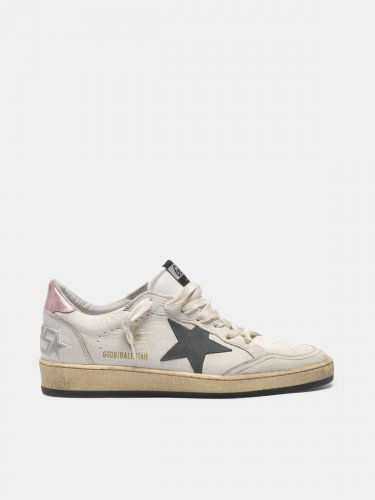 Ball Star sneakers with suede star and pink heel tab