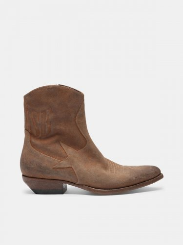 Cortney ankle boots in hand-finished leather