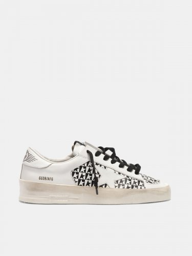Stardan sneakers with checkerboard stars