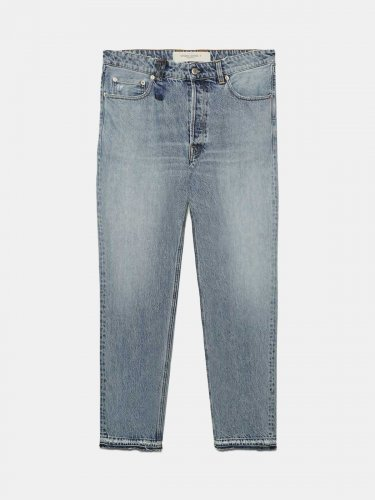 Slim-fit Happy jeans in cotton