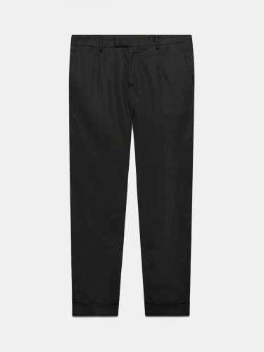 Black Milano tailored trousers