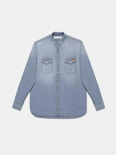Austin shirt in cotton denim
