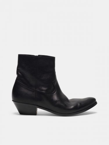 Younger ankle boots in black leather