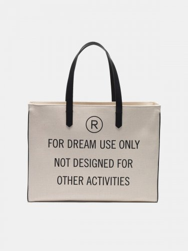 """For dream use only"" East-West California Bag"