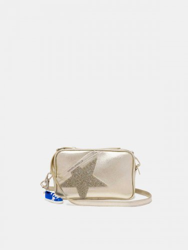 Gold Star Bag with crystals