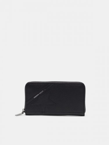 Large black Star Wallet