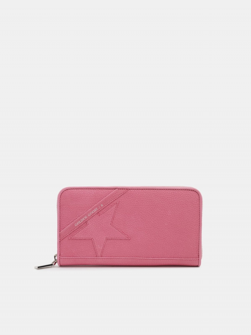 Large pink Star Wallet