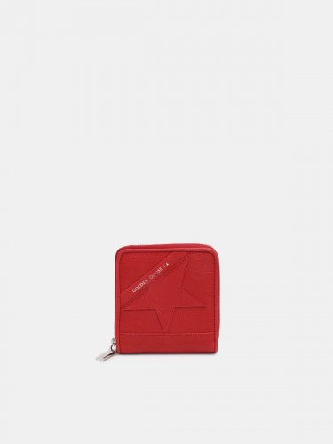 Medium red Star Wallet