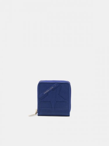 Medium blue Star Wallet