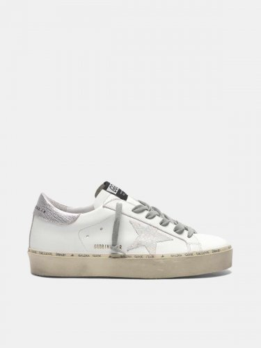 Hi Star sneakers with iridescent star and silver heel tab