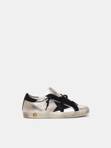 Super-Star sneakers in laminated leather
