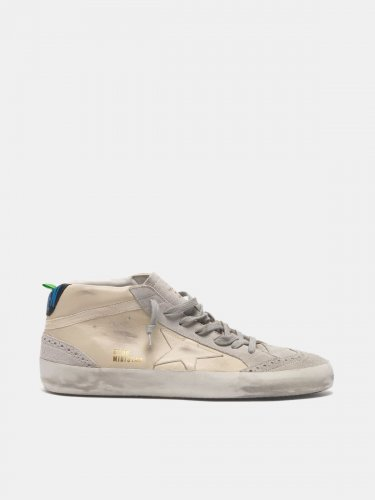 Mid Star sneakers in leather with suede details