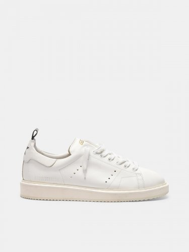 Starter sneakers in total white leather