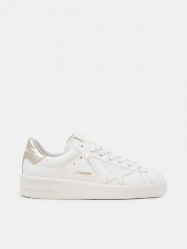 Women??s PURESTAR sneakers with gold-coloured heel tab