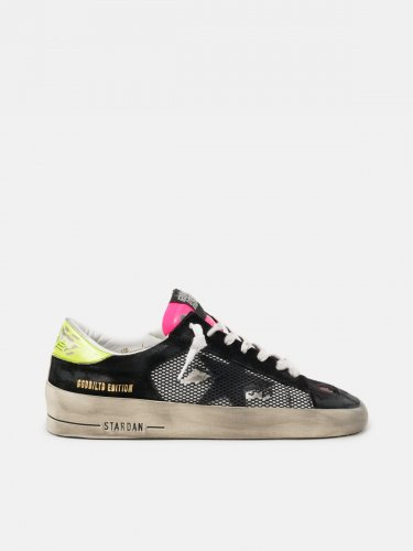 Women??s Limited Edition Stardan sneakers in fuchsia and yellow