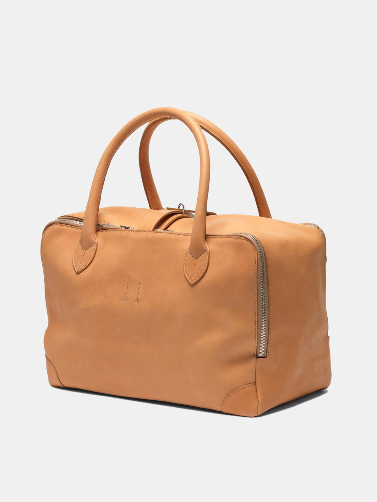 Equipage bag in pebbled leather
