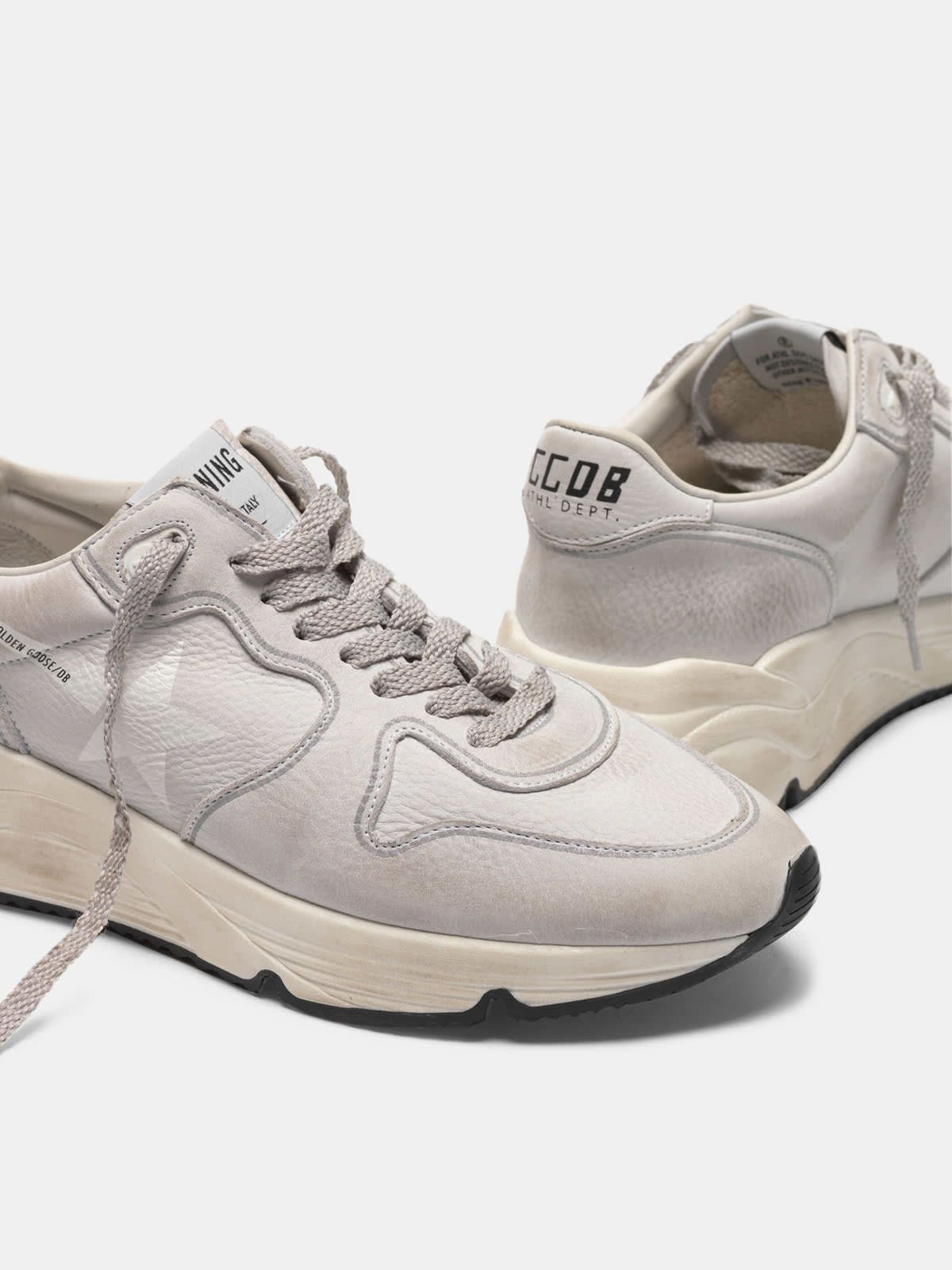 Running Sole sneakers in nubuck