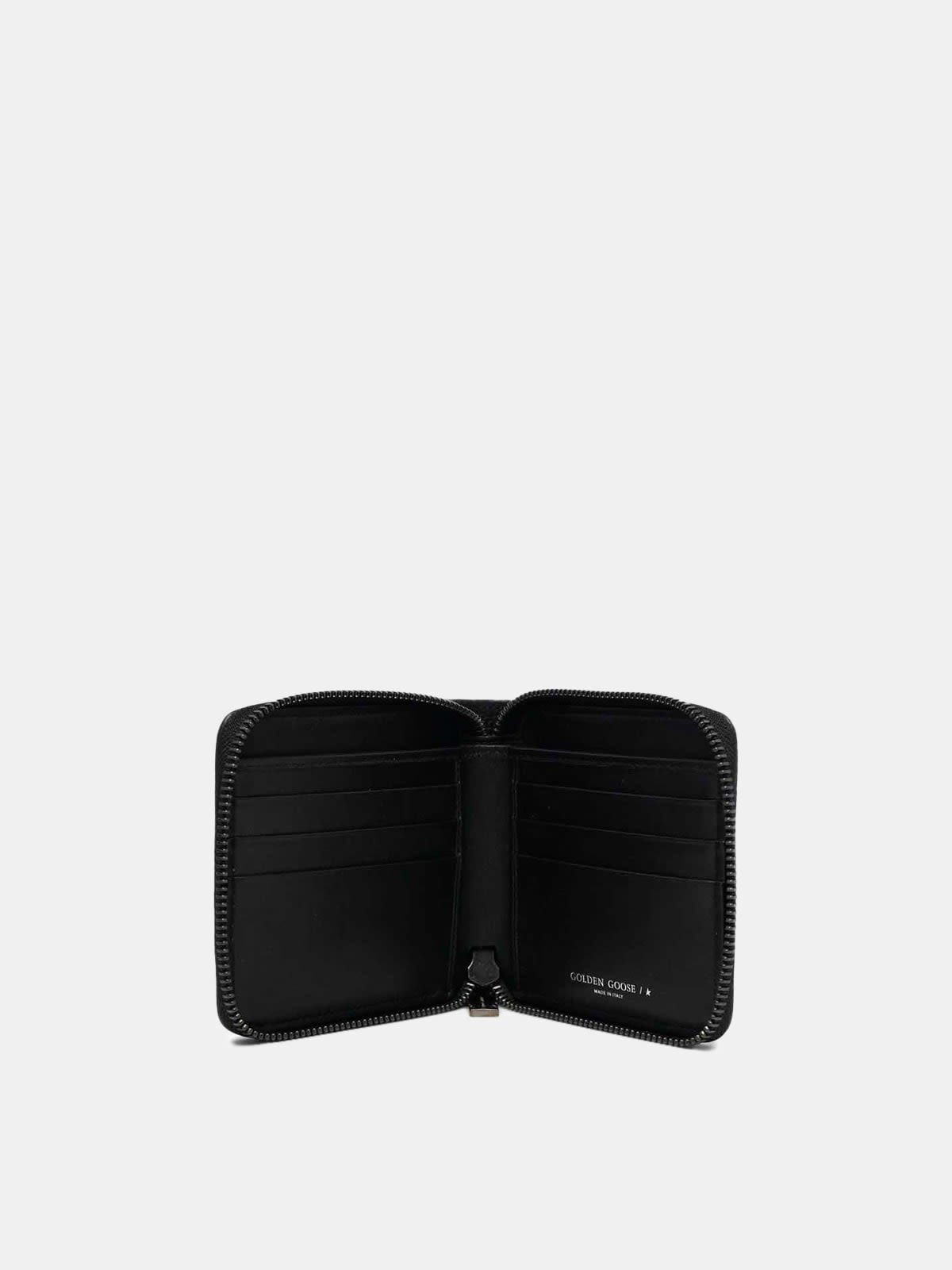 Medium black Star Wallet