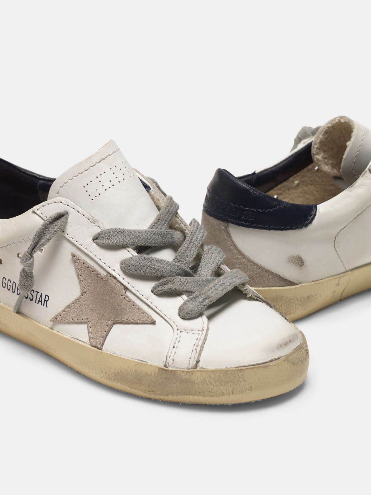 Super-Star sneakers with suede star